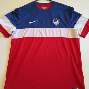 USAMNT Jersey USA Soccer L